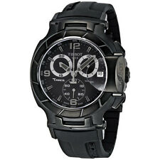 New Tissot T-Race Chronograph Quartz Black PVD Sport Mens Watch T0484173705700
