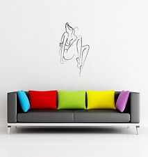 Wall Stickers Woman Female Girl Abstract Decor for Living Room z1305