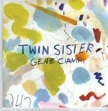 (CB155) Twin Sister, Gene Ciampi - 2011 DJ CD