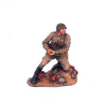 RUSSTAL004 Russian Infantry Kneeling with Grenade and PPSH41 by First Legion