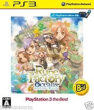 Used PS3 Rune Factory Oceans SONY PLAYSTATION 3 JAPAN JAPANESE IMPORT