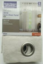 Better Homes and Gardens 84inch Wide Sheer Curtains