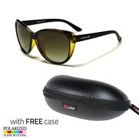 Yellow Cat Eye POLARIZED Sunglasses Retro Classic Vintage Design CASE  FREE u