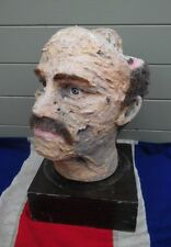 Antico Vintage Art Studente PRIMITIVI TESTA UMANA forma anatomica Scultura