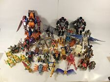 HUGE LOT OF TRANSFORMERS BEAST WARS FIGURES SOLD FOR PARTS/REPAIRS TRANSMETALS