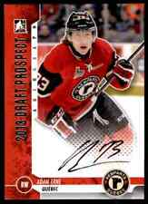 2013-14 IN THE GAME 2013 DRAFT PROSPECT ADAM ERNE AUTO QUEBEC REMPART #A-AER2
