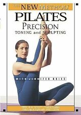 The New Method Pilates - Precision Toning and Sculpting (DVD, 2001) Kries MINT