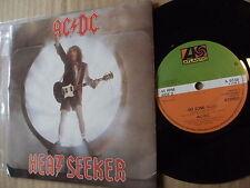 AC DC <1988>HEAT SEEKER 45rmp vinyl 7ins single ORIGINAL record