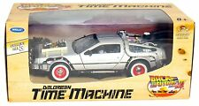 WELLY 1:24 DELOREAN TIME MACHINE BACK TO THE FUTURE PART 3 III DIECAST MODEL