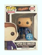 The Flash Captain Cold:Unmasked Pop Vinyl Figure #217