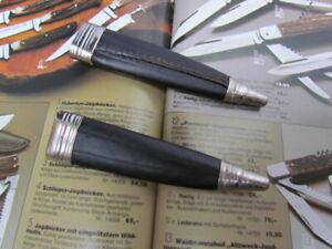 Messerscheide für Jagdnicker Messer 11 cm Klinge. Solinger Bayernmesserscheide.