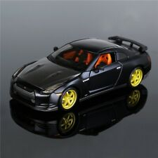 1:24 Metal Nissan GTR 4 Wheel Disc Car Collection Model Die-cast & Toy Vehicles