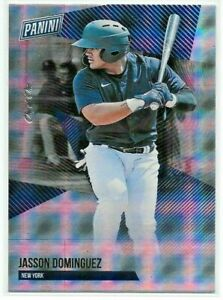 2021 Panini National NSCC Silver JASSON DOMINGUEZ Foil Windows #'d 1/1 Yankees