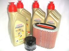 KIT DE MANTENIMIENTO ACEITE CASTROL POWER1 10W40 HONDA 1100 VT C Shadow 1987