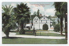 Los Angeles Mission Chapel Seen From Plaza, c. 1910 CA California
