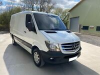 Mercedes Sprinter 213CDI 2015 MWB low roof rare van fully loaded great condition