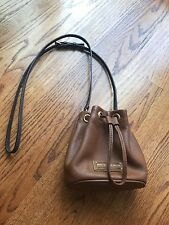 Marc By Marc Jacobs Brown Drawstring Bucket Bag