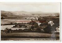 Sussex Poynings & Dyke Hills Looking West Real Photo Vintage Postcard 28.11