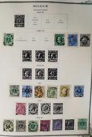 Belgium Clean High-Value Stamp Album