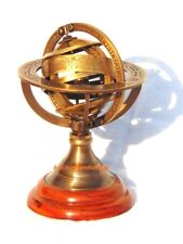 Nautical Antique Solid Brass Vintage Home decor Globe Armillary sphere