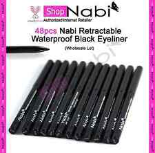 48pcs Nabi Retractable Waterproof  Black Eyeliner(Wholesale Lot)_cruelty Free