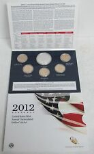 2012 US MINT ANNUAL UNCIRCULATED DOLLAR COIN SET