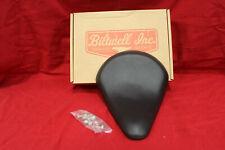 Harley Parts Biltwell SL-VIN-00-BS, Slimline Solo Seat, Smooth Black Bobber Seat