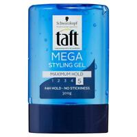 Schwarzkopf Taft Mega Styling Gel 300G long-lasting hold in all conditions
