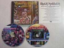 IRON MAIDEN SOMEWHERE IN TIME LTD EDITION 2CD CASTLE RECORDS BONUS DISC RARE OOP