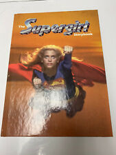 The Supergirl Movie Storybook 1984 Hardcover Book Super Girl