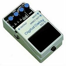 BOSS DD-3 DIGITAL DELAY ECHO EFFECTS PEDAL + 2 FREE PLECTRUMS 2 5 6 7