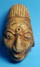 Pre-Columbian Mayan Stone Pendant Mask
