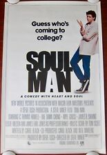 SOUL MAN Orig. (1986) 27x41 Movie Poster C. THOMAS HOWELL ROLLED MINT CONDITION!