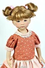 Strawberry Blonde Doll Wig Size 7/8� Fits Vintage And Modern Dolls