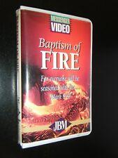 Baptism of Fire by John Bevere Messenger VHS Video Pentecostal Word of Faith