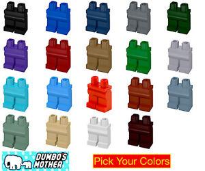 Lego Minifigure Hips & Legs Solid Colors Male Female Boy Girl Monochrome U Pick