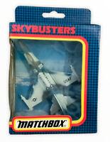Vtg 1980s Tot MATCHBOX SKY BUSTER No.SB- 24 USAF F-16  JET FIGHTER Boxed (15
