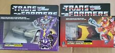 HASBRO TRANSFORMERS HOT ROD AND ASTROTRAIN REISSUE EXCLUSIVES!  PLEASE READ!