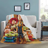 Toy Story Cool Sofa Bed Soft Throw Fleece Blanket