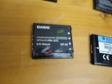 Genuine CASIO digital camera lithium ion battery NP-60 Import Japan