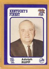 Kentucky Wildcats 1988 Collegiate Collection 1-200 Adolph Rupp Dan Issel
