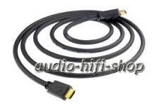 1,0m inakustik Darkgray High Speed HDMI Kabel FULL- HD vergoldete Kontakte NEU