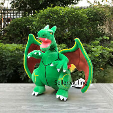 Pokemon Fusion Plush Charizard Rayquaza Dragon Cartoon Stuffed Toy Soft Doll 10""