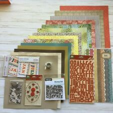 Studio Calico Collection Lot 14 Sheets making memories sassafras crate paper NEW