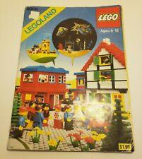 Vintage LEGO 6000 Idea Book Legoland 1980 Partial Stickers Left