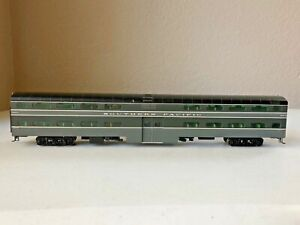 Walthers Proto Southern Pacific 85' P-S Bi-Level Commuter Coach (2-tone) lighted