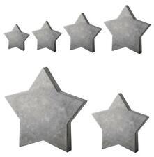 Gießform Stern 6 bis 28 cm aus Kunststoff für Beton Gießmassen uvm Rayher