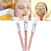 Mode DIY Silikon Make-up Hautpflege Behandlung Werkzeug Gesichtsmaske Pinsel DE