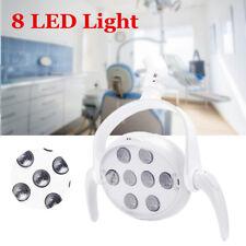 18 W dentaire 8 Lampe DEL Oral Light dents opération circulaire sans ombre pour fauteuil dentaire