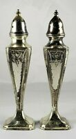Vintage Empire Style Rare  Sterling Silver Gorham Salt & Pepper Shakers